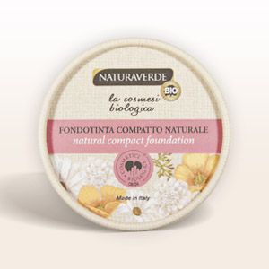 fondotinta compatto Naturaverde Bio Make up