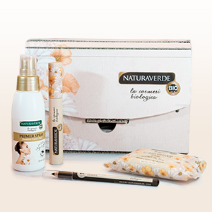 NATURAVERDE BIO MAKE-UP GIFT SET 4 PIECES