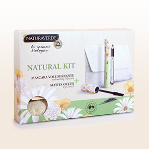 NATURAL KIT POCHETTE MASCARA + EYE PENCIL