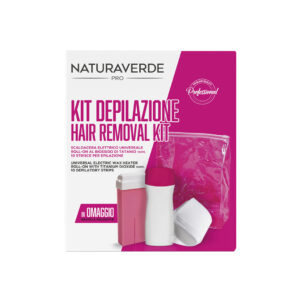 kit depilazione scaldacera roll on