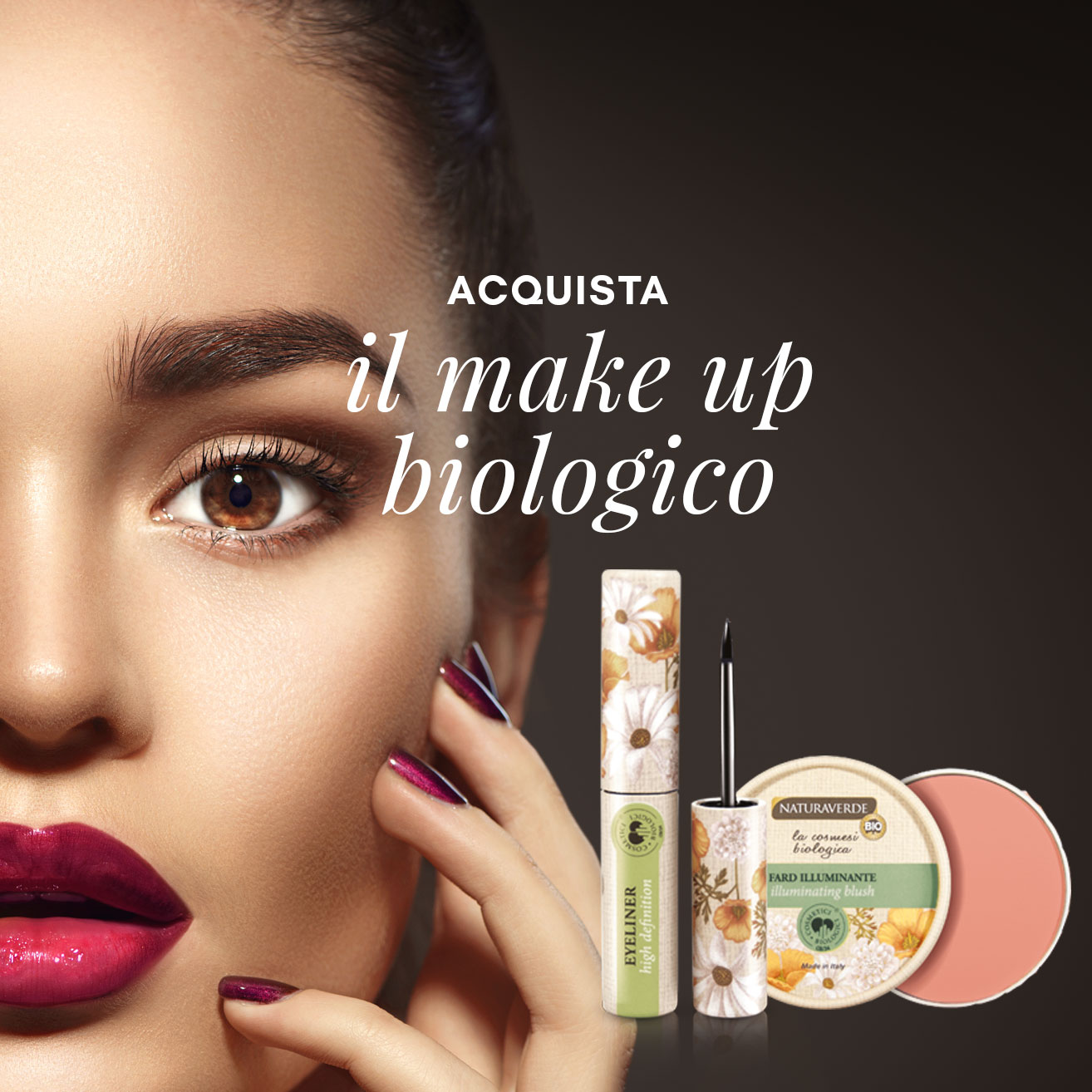 Acquista il make up biologico Naturaverde online