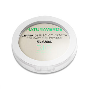 Cipria di Riso compatta Naturaverde Make up