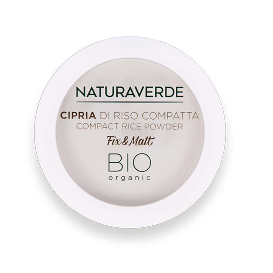 Cipria compatta di riso Naturaverde make up
